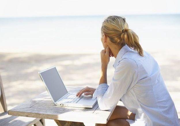 67% de Français ne parviennent pas à décrocher de leur travail pendant leurs vacances.
