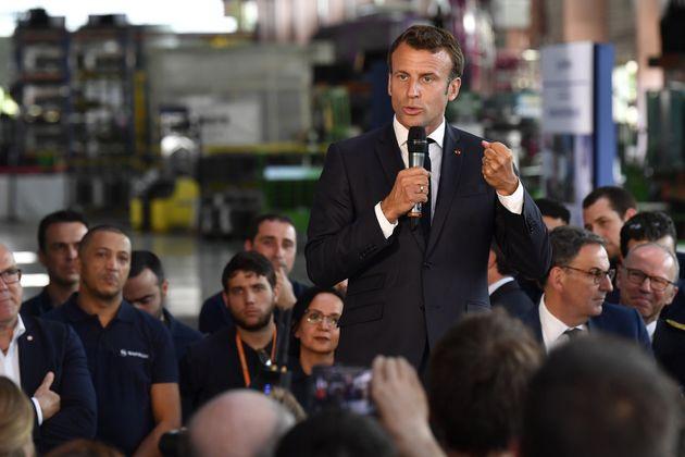 Macron annonce une nouvelle usine Safran près de Lyon, 250 emplois à la