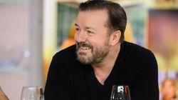 Ricky Gervais ('The Office') estalla por estas imágenes vistas en España: