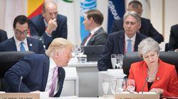 En pleine brouille avec Londres, Trump dénonce la