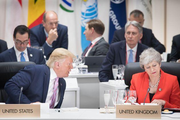 Donald Trump s'en prend à Theresa May, en pleine brouille