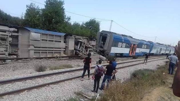 Accident de train à Kalaa Kobra, une commission d'enquête