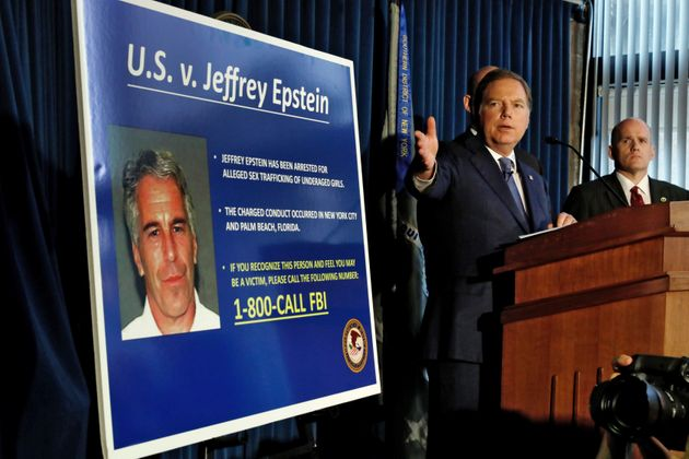 US Attorney for the Southern District of New York Geoffrey Berman speaks during a news conference in...