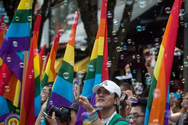 Crowds gather for Vancouver's annual Pride Parade in