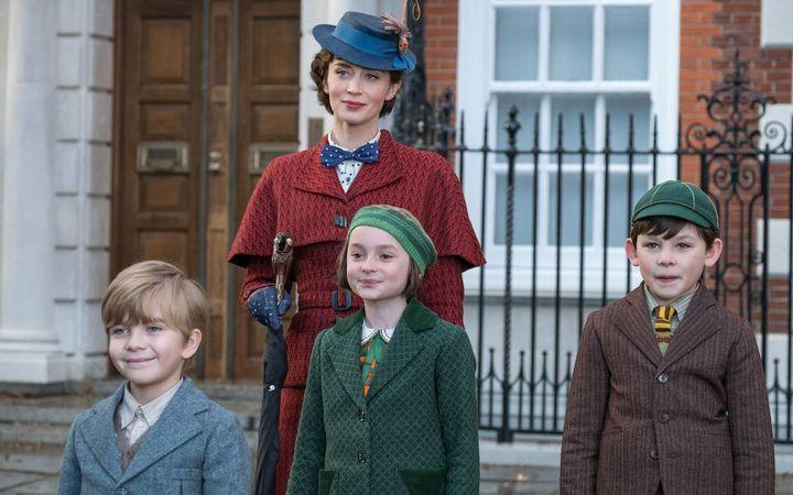 """Mary Poppins Returns"" on Netflix."
