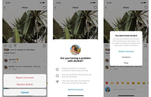 Instagram、ネットいじめ対策に新機能。AIでコメントの再考を促す