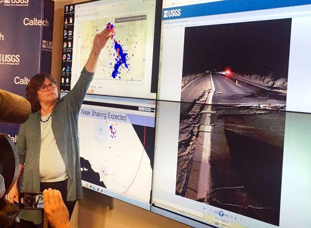 Ο σεισμός των 7,1 Ρίχτερ στην Καλιφόρνια προκάλεσε τεράστια ρωγμή στη Γη ορατή από