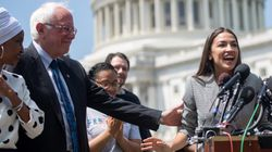 Sanders y Ocasio-Cortez se movilizan para declarar la emergencia climática en