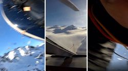 L'aereo si scontra in volo con l'elicottero: le drammatiche immagini della tragedia del