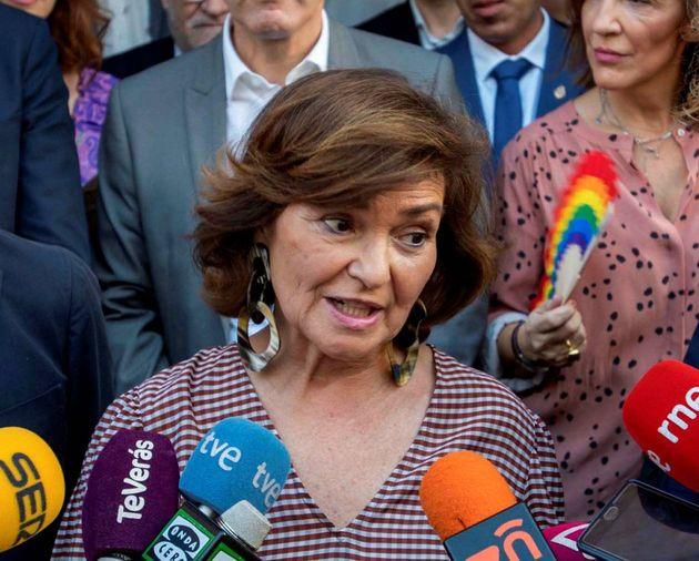 Calvo afirma que Sánchez nunca ofreció a Iglesias entrar en el