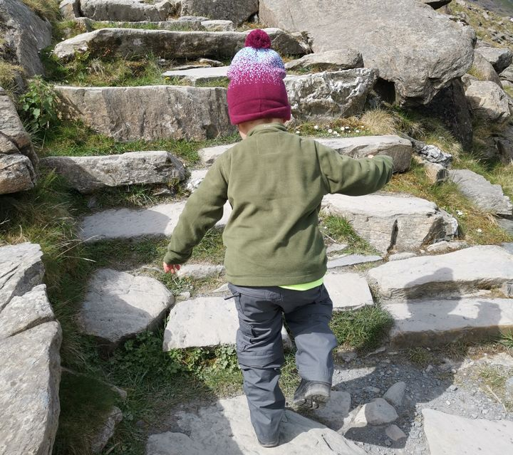 3-Year-Old Is Youngest Person To Climb Britain's 3 Highest Mountains