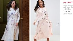Letizia di Spagna, regina di stile con abito low cost da 100 euro (riciclato per la terza