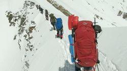 Un video mostra gli ultimi momenti di vita di un gruppo di alpinisti morti