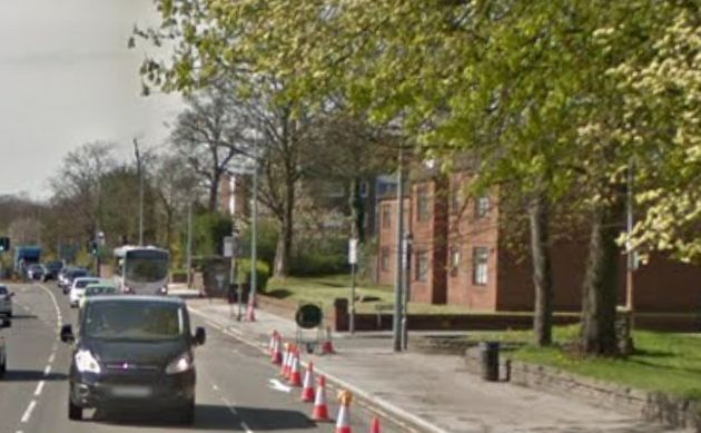 The remains were found near Eccles Old Road in