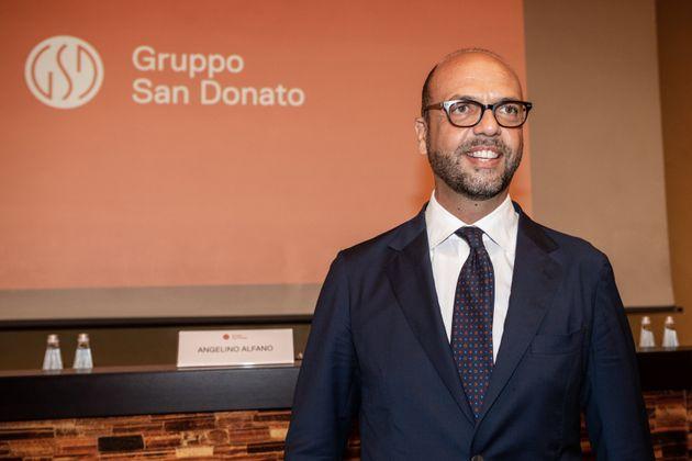 Il ritorno di Angelino Alfano. Nominato capo della holding del gruppo San