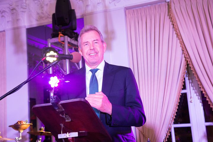 British Ambassador to the U.S. Sir Kim Darroch is seen at the White House Correspondents' Dinner pre-party at the Britis