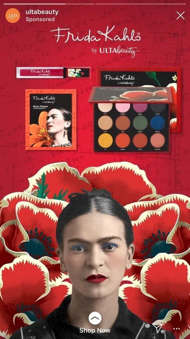 Le visage retouché de Frida Kahlo pour cette publicité ne passe