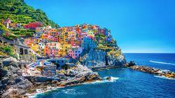 Cinque Terre, na Itália, pode limitar entrada devido a grande fluxo de