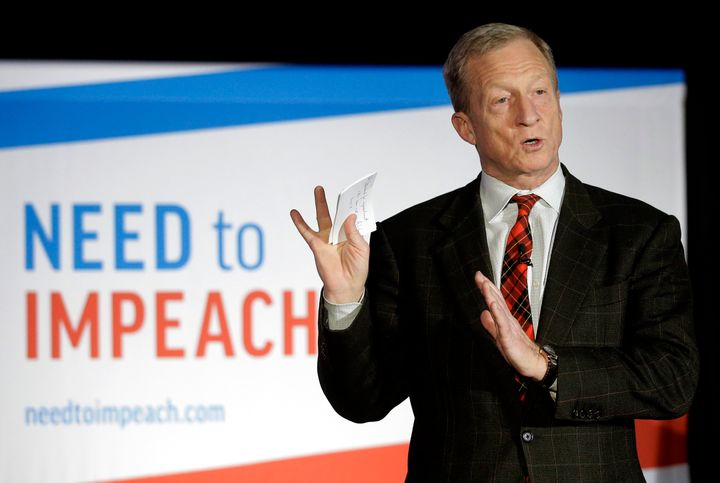 Tom Steyer spent more than $120 million on his Need to Impeach effort and signed up more than 6 million people.