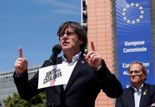 El Supremo multa con 3.000 euros a Puigdemont y Comín por mala fe