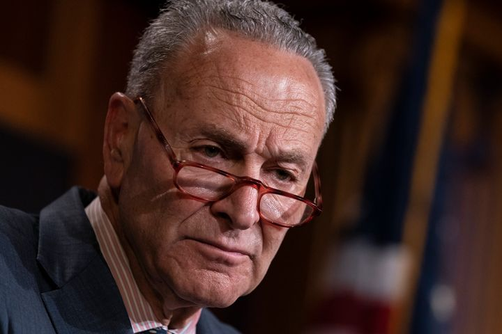 Senate Minority Leader Chuck Schumer (D-N.Y.) called for Labor Secretary Alex Acosta's resignation on Tuesday morning.