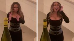 Mariah Carey 'zera' desafio da garrafa com a força do seu