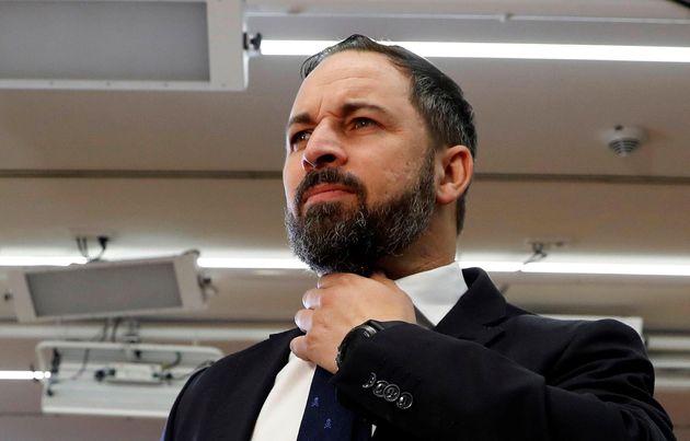 Santiago Abascal, líder de