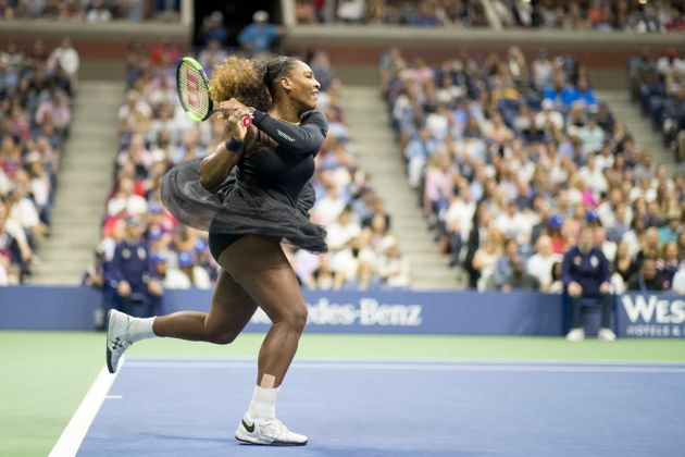 Serena Williams at the 2018 US Open Tennis Tournament- Day