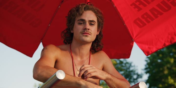 Dacre Montgomery as Billy.