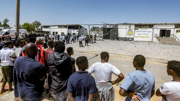 Il governo libico ha liberato i 350 migranti rinchiusi a