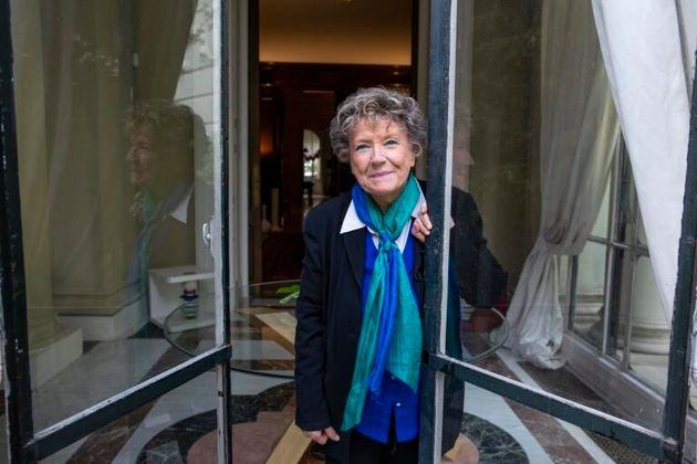 La escritora italiana Dacia Maraini en Madridm, la primavera de