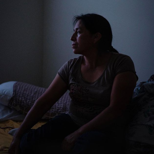 Maria Chavalan Sut is an asylum seeker from Guatemala's indigenous Kaqchikel