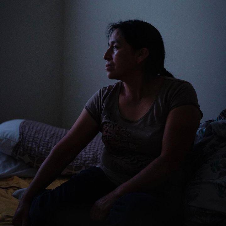 Maria Chavalan Sut is an asylum seeker from Guatemala's indigenous Kaqchikel community.