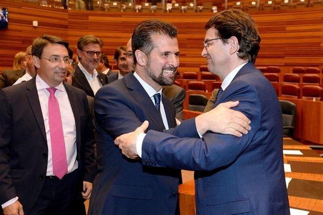 Mañueco, nuevo presidente de Castilla y León con el apoyo de