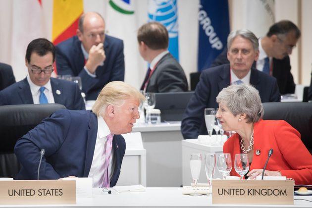 Boris Johnson Refuses To Rule Out Sacking Ambassador To US Over Trump