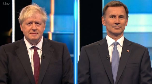 The Boris Johnson V Jeremy Hunt TV Debate Was More Feisty Than You'd