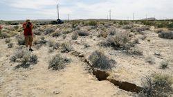 Le séisme en Californie a créé une faille qui se voit depuis un