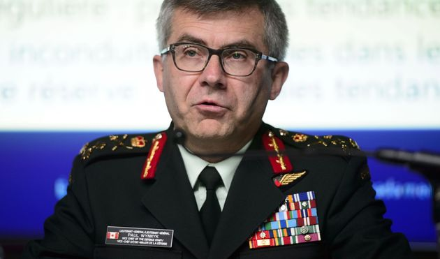 Lieutenant-General Paul Wynnyk, Vice Chief of the Defence Staff in Ottawa on May 22,