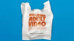 「変なアダルトビデオ店」と書かれたレジ袋をスーパーが配布。一体なぜ?
