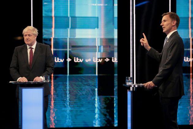Boris Johnson et Jeremy Hunt se sont affrontés lors d'un débat