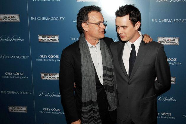 Colin Hanks, hijo de Tom Hanks, trolea a su padre por su cumpleaños: quiere que sea otro