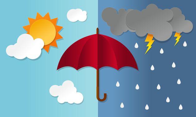 Βροχές, καταιγίδες αλλά και καύσωνας για σήμερα ανά τη