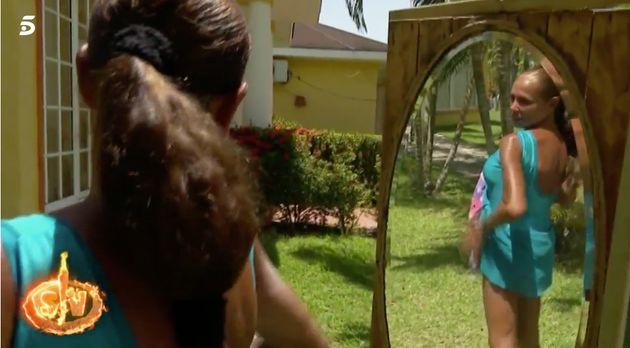 La inesperada reacción de Isabel Pantoja al ver en un espejo su cambio físico tras 'Supervivientes'