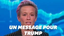 Megan Rapinoe a un message très clair pour