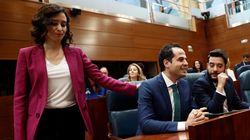 Cs rechaza otra reunión a tres con PP y Vox en Madrid:
