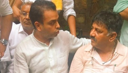 Shivakumar Being Forcibly Sent Back To Bengaluru, Says