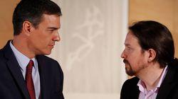 Un 26,4% de los españoles prefiere un gobierno del PSOE en el que esté Podemos y un 20,2%, de Sánchez en