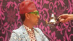 Gad Elmaleh pose pour Hassan Hajjaj à
