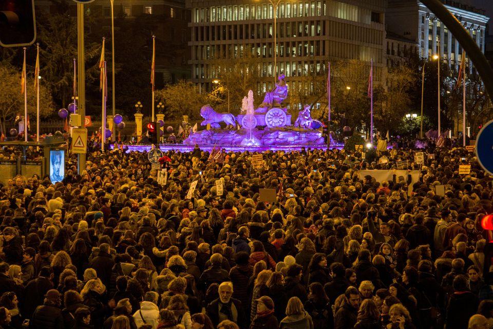 Manifestación el 8 de marzo en