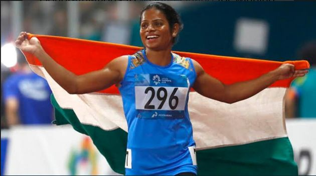 Dutee Chand bags gold at university games, 1st Indian to win 100m at global meet